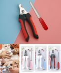 Stainless Steel Pet Nail Scissor W/ Nail File