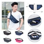 Custom Multi Functional Outdoor Sports Water Resistant Oxford Fanny Pack