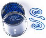 Snake Shaped Originality Chinese Zodiac Metal Clip Tin