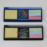 Mini Memo Pad Clip Dispenser Ruler