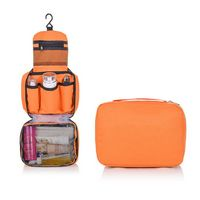 Travel Toiletry Bag with Hanging Hook