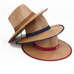 Custom Unisex Cowboy Hat Straw Hat Wide Brim