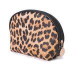 Custom Leopard Print Cosmetic Bag