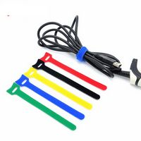 Nylon Hook And Loop Cable Tie Wraps