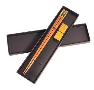 Custom Printed Wooden Chopsticks and Rest Sets