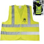 Custom Safety Vest w/ Front Reflective Band