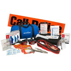 Family Travel Auto Safety Kit (17 pieces)