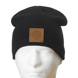 24+ Leather Logo Beanie