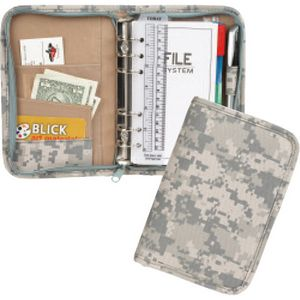 600 D Polyester Small Digital Camo Planner