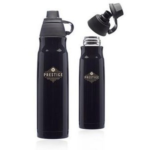 25 oz. Giza Stainless Steel Water Bottles with Plastic Lids