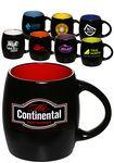Custom 16 Oz. Sleek Two Tone Barrel Mug