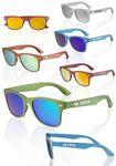 Custom Metallic Mirrored Lens Sunglasses