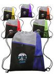 Custom Mesh Pocket Drawstring Backpacks