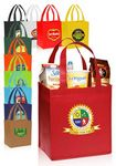 Custom Value Non-woven Grocery Tote Bags (12