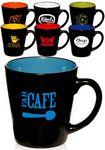 Custom 12 Oz. Two Tone Latte Mug