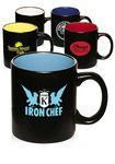 Custom 11 Oz. Hilo Matte Two-Tone Coffee Mugs