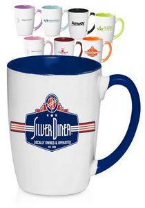 12 Oz. Java Two-Tone Coffee Mugs