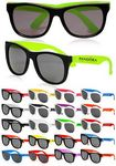 Two Tone Plastic Sunglasses
