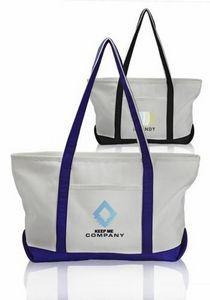 Pocket Large Canvas Tote Bags 17x17 E227 Atot Brilliant