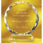 Custom Large Crystal Sunrise Award