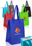 Custom Zipper Insulated Lunch Tote Bags