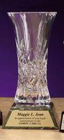 """Masquerade Crystal Vase (9.5"""")"""