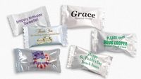 Wrapped Pastel Butter Mints (4 Assorted Flavors)