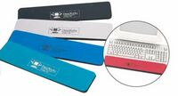 Keyboard Wrist Rest w/ Rubber Foam Base & Soft Fabric Surface
