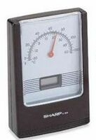 LCD Clock w/ Thermometer