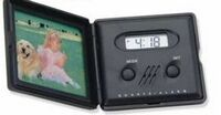 Picture Frame Travel Alarm Clock