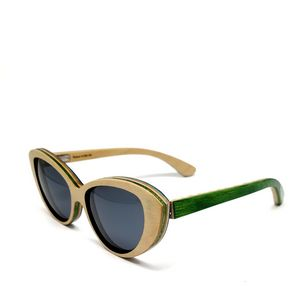 b1ac14cb618 Recycled Mariana Skateboard Sunglasses - Handmade in USA - SK8G-MAR-GRN - IdeaStage  Promotional Products