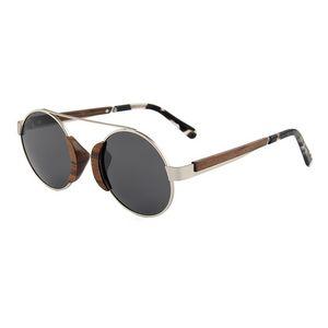 3e65bda324d Steampunk Ebony Wood Sunglasses - SGL-SUN-30581 - IdeaStage Promotional  Products