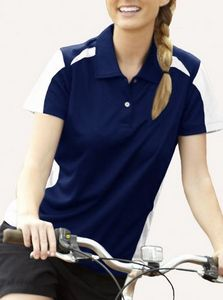 ec5bc696 Ladies' Fierce Ottoman Polo Shirt - KLM279 - IdeaStage Promotional Products