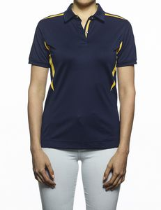 d935333b Ladies Caliber Color Block Polo Shirt - NEW218 - IdeaStage Promotional  Products