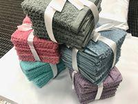 "100% CottonTerry Wash Cloth Towel 12""X12"" 1.50lbs P/Dzn"