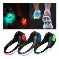 Luminous Safety Night Running Shoe Clips