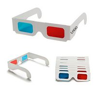 Red/Blue Cardboard 3D Glasses