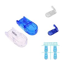 Square Plastic Pill Box with Cutter