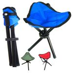 Custom Easy To Carry Foldable Tripod Chair