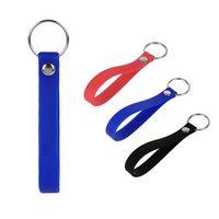 1/2'' Silicone Bracelet Keychain