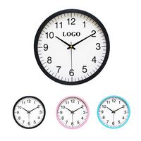 "10"" Silent Wall Clocks"