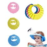 Adjustable Baby Bath Cap w/ Ear Protection