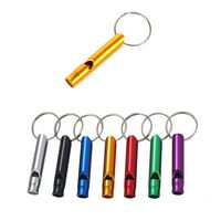 Aluminium Whistle With Key Ring