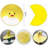 Kids Hands-free Foldable Poncho/Raincoat