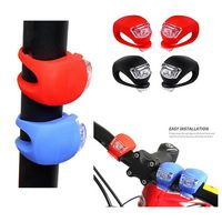 Bicycle Light Front and Rear Silicone LED Bike Light