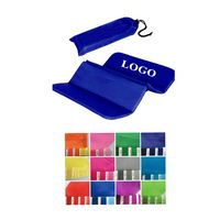 Foldable Polyester Stadium Seat Cushions w/Pouch