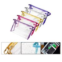 Portable Transparent Waterproof Cosmetic Bag/Makeup Tool Organizer Bag
