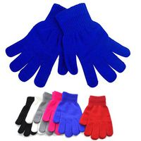 """7 7/8"""" L Adult Size Acrylic Gloves"""