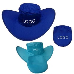 8e9d57f3a9bc5 190T Polyester Foldable Cowboy Hat - SSRJX7115 - IdeaStage Promotional  Products