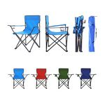 Custom Outdoor Folding Chair With Carry Bag